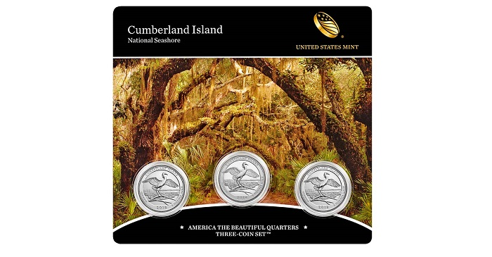 2017 5 S Nat Park Quarter ATB America Beautiful Set Lot ~ 5 UNC San Fran 2nds