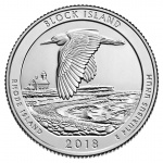 Sales open November 15 for America the Beautiful five-ounce silver Uncirculated coin honoring Block Island National Wildlife Refuge
