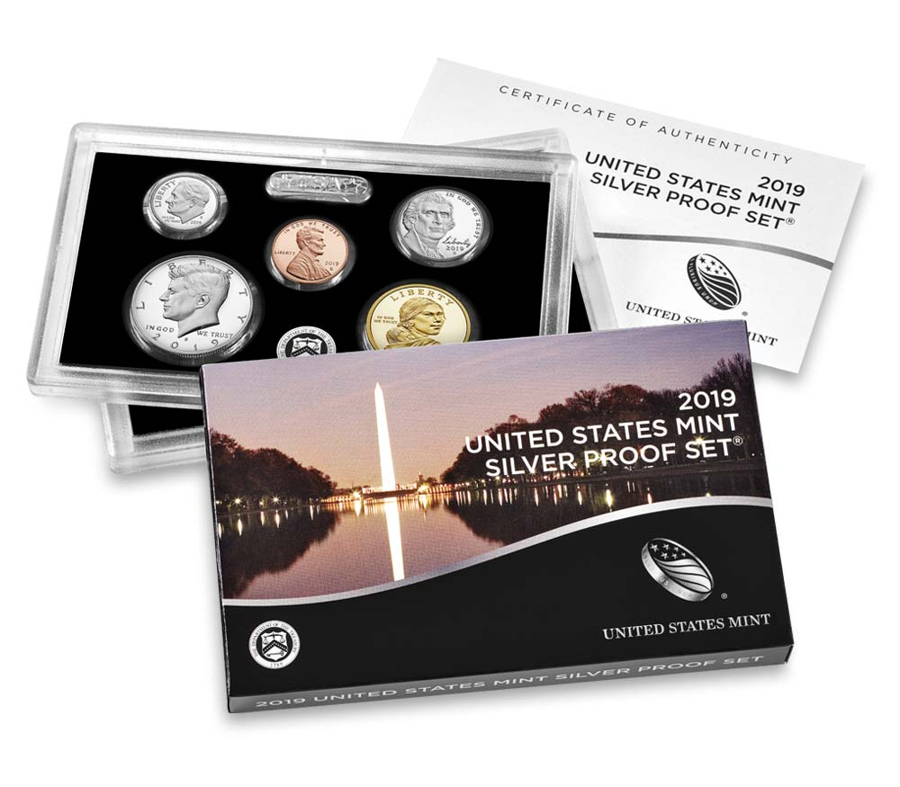United States Mint 2019 Silver Proof Set available on April