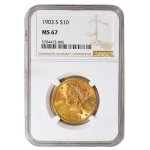 High-grade Liberty Head eagles certified by NGC highlight GreatCollections sale