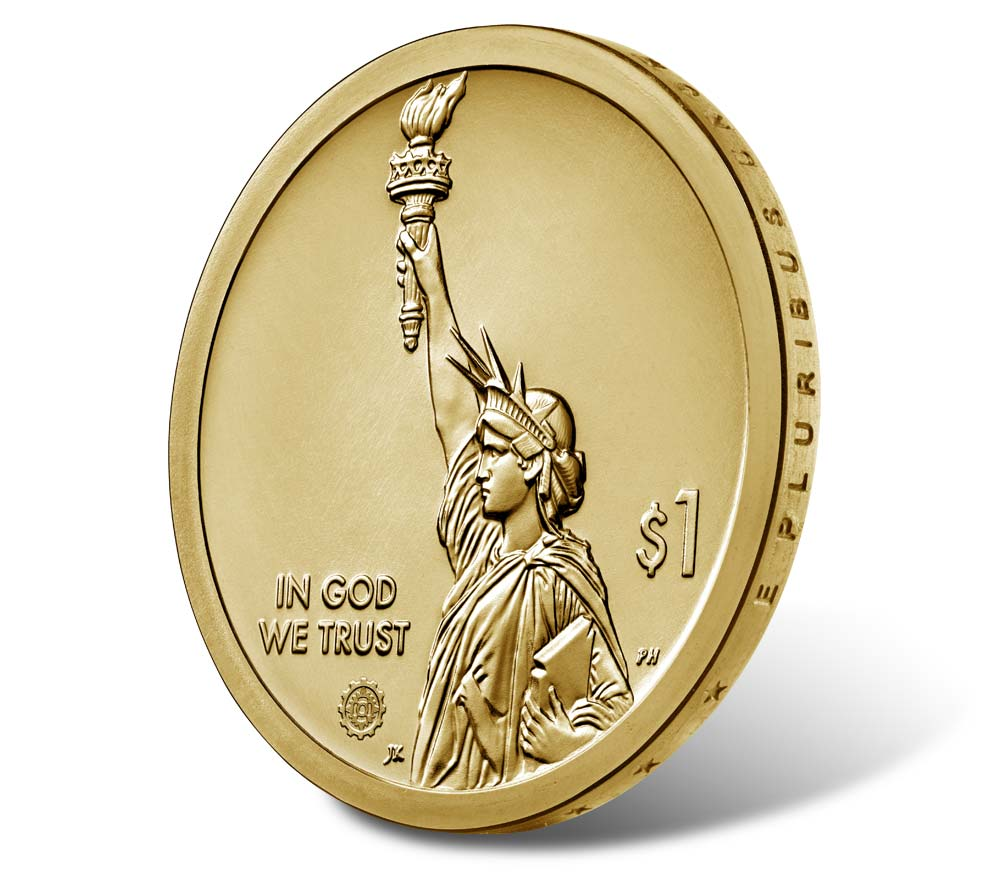 2019 Georgia American Innovation $1 Reverse Proof Coin
