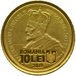 "Romania: Latest coin in ""History of Gold"" series features exquisite coronation coins of King Ferdinand and Queen Marie"